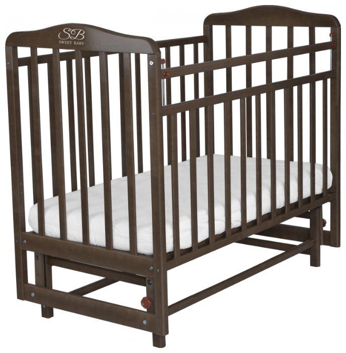 Кроватка Sweet Baby Ennio Wenge (Венге)