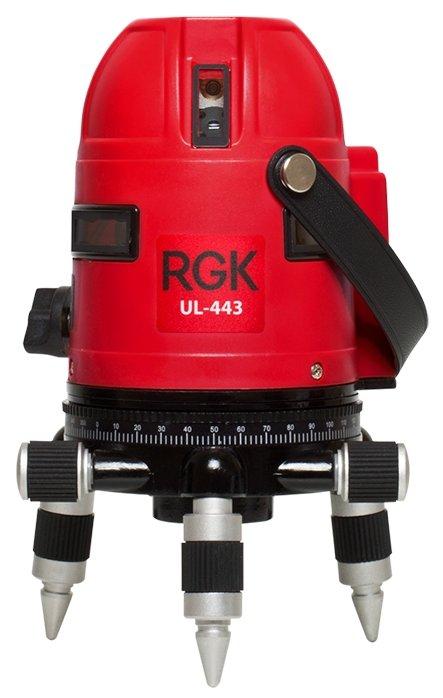 Лазерный уровень самовыравнивающийся RGK UL-443