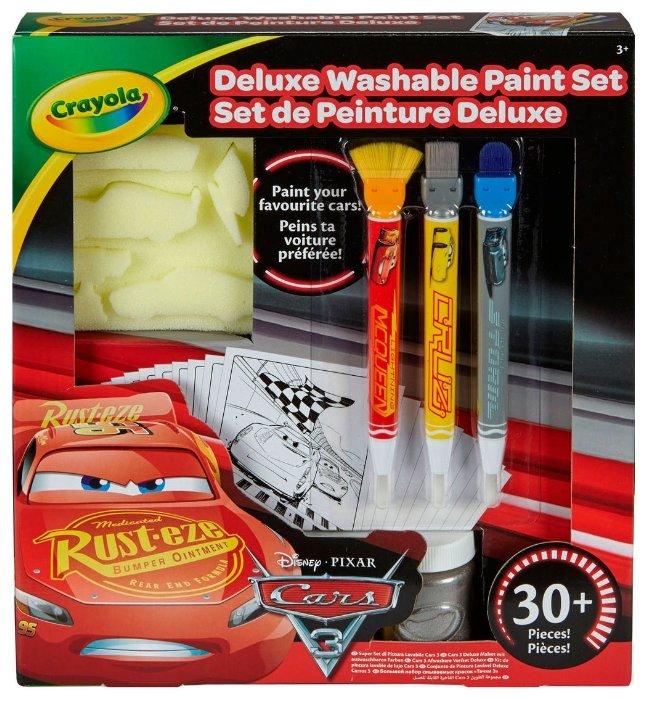 Crayola Deluxe Большой набор смываемых красок