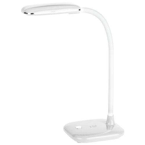 Настольная лампа светодиодная ЭРА NLED-450-5W-W, 5 Вт настольная лампа светодиодная эра nled 431 5w bu 5 вт