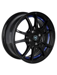 Диски R16 5x108 6,5J ET50 D63,3 NZ Wheels F-43 BKBSI - фото 1