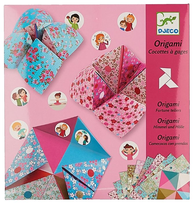 DJECO 8773 Оригами с фантами