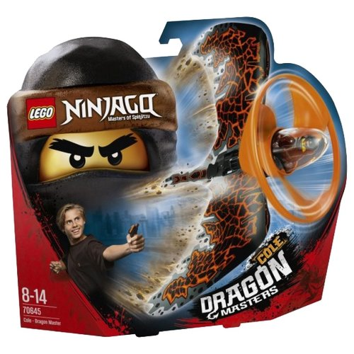 Конструктор LEGO Ninjago 70645 Коул - Мастер дракона, Конструкторы  - купить со скидкой