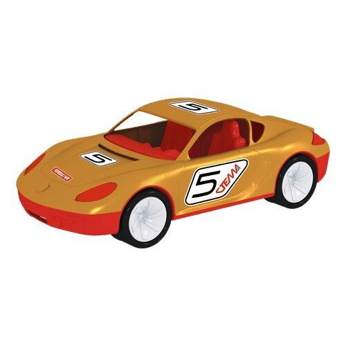 Легковой автомобиль Стеллар Стелла (01451) 40.5 см бежевый/красныйМашинки и техника<br>