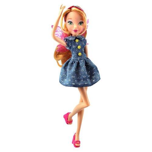 Кукла Winx Club Стильная штучка Флора, 28 см, IW01571802 раскраска winx club