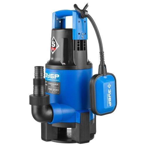Дренажный насос ЗУБР НПГ-Т3-750 (750 Вт) дренажный насос leo xks 750p 750 вт