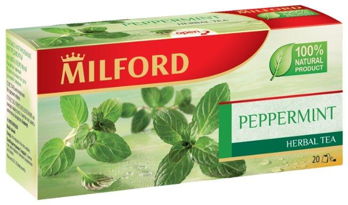 Напиток Milford чайный Мята перечная 20 пакетиков по 1,5г