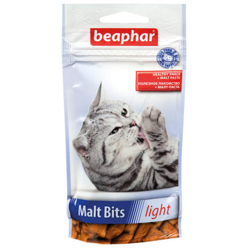 Лакомство для кошек Beaphar Malt Bits light 35 г