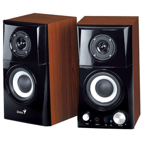 Компьютерная акустика Genius SP-HF500A brown wood компьютерная акустика genius sp u120 31731057100