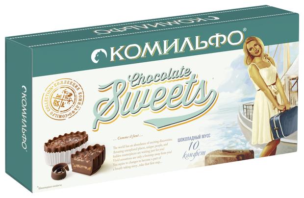 Набор конфет Комильфо Шоколадный Мусс 116 г