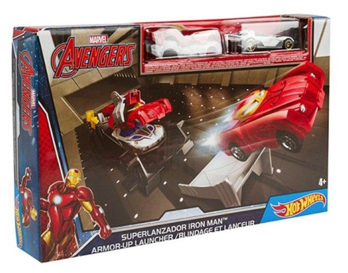 Трек Hot Wheels Марвел Приключения супергероев: Железный человек DKT27-3