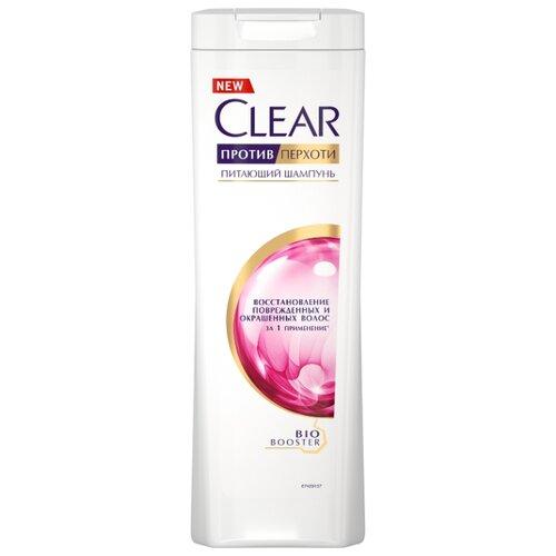 Clear шампунь против перхоти Восстановление поврежденных и окрашенных волос 400 мл шампунь восстановление 400 мл likato шампунь восстановление 400 мл