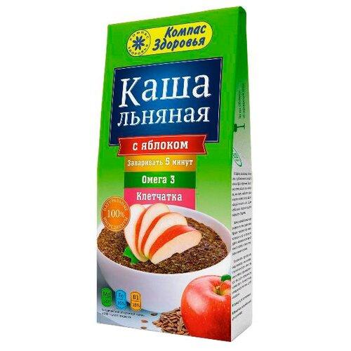 Компас Здоровья Каша льняная с яблоком, 250 г
