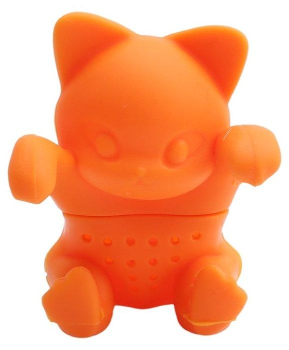Ситечко для заварки FidgetGo Котёнок оранжевый