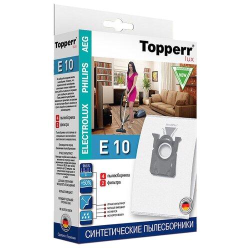 Topperr Синтетические пылесборники E10 4 шт. недорого