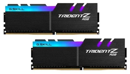 Оперативная память 16Gb DDR4 3600MHz G.Skill Trident Z RGB(2x8Gb KIT) (F4-3600C18D-16GTZRX)