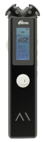 Диктофон RITMIX RR-145 4 Gb, черный [15119855]