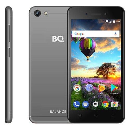 Смартфон BQ 5206L Balance серый  - купить со скидкой