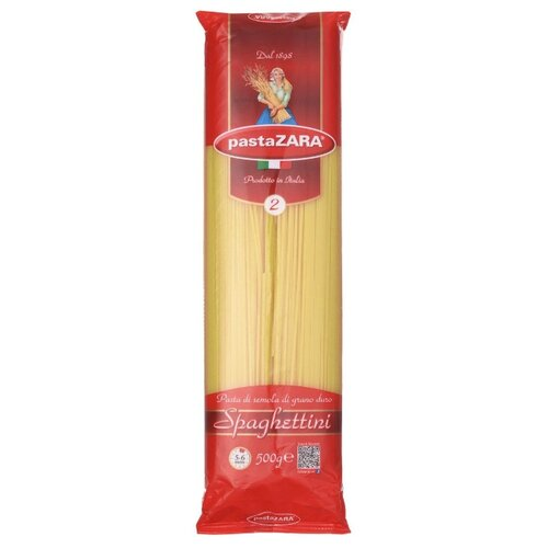 Pasta Zara Макароны 002 Spaghettini, 500 г