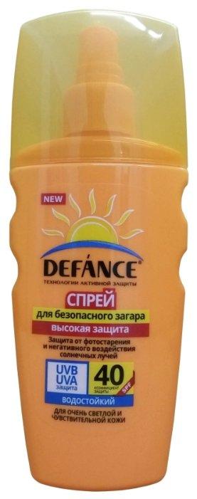 Defance Спрей для безопасного загара SPF 40