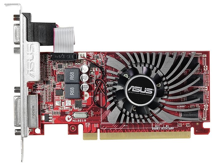 ASUS Видеокарта ASUS Radeon R7 240 730MHz PCI-E 3.0 2048MB 1800MHz 128 bit DVI HDMI HDCP