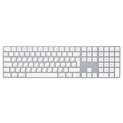 Купить Клавиатура Apple Magic Keyboard with Numeric Keypad (MQ052RS/A) Silver Bluetooth