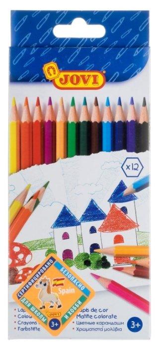 JOVI Цветные карандаши 12 цветов (730/12)
