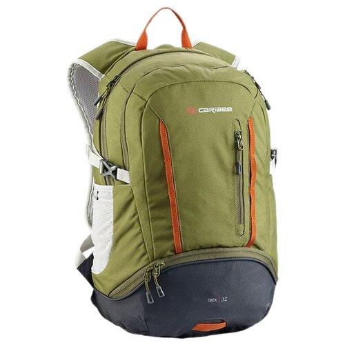 Рюкзак Caribee Trek 32 green/grey (olive/charcoal) рюкзак caribee jet 65 grey storm grey