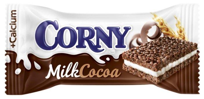 Батончик злаковый Corny Milk с молоком и какао 30г
