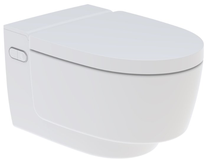 Унитаз-биде подвесной GEBERIT AquaClean Mera Classic 146.204.11.1 с горизонтальным выпуском