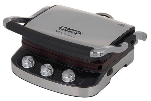 Гриль De'Longhi CGH 912C нержавеющая сталь/черный