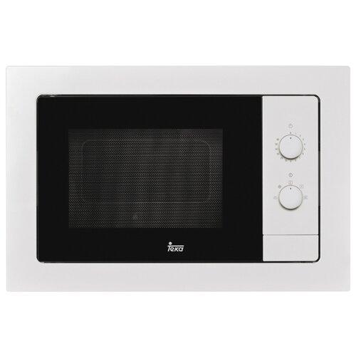 Микроволновая печь встраиваемая TEKA MB 620 BI WHITE (40584001) микроволновая печь teka mwe 207 fi white