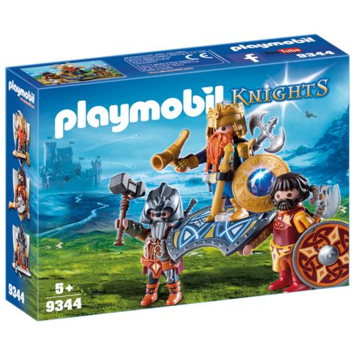 Набор с элементами конструктора Playmobil Knights 9344 Король гномов