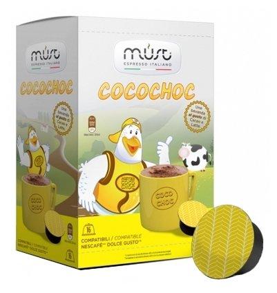 Горячий шоколад в капсулах MUST Cocochoc (16 шт.)