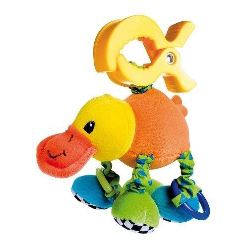 Купить Подвесная игрушка Canpol Babies Утконос (68/010) оранжевый/желтый/зеленый, Подвески