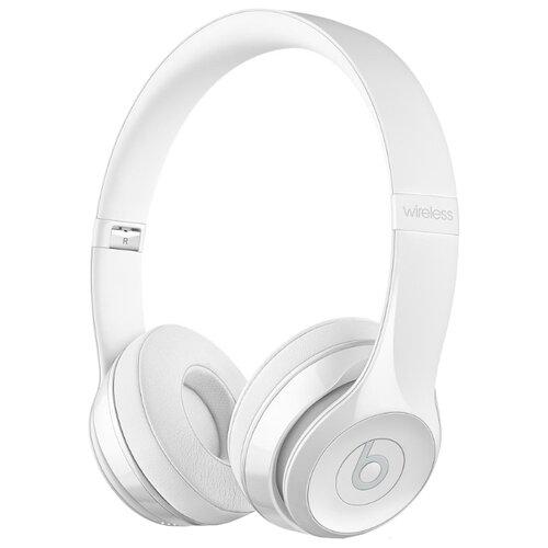 Беспроводные наушники Beats Solo3 Wireless глянцевый белый цена 2017