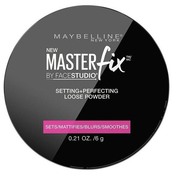 Maybelline New York Face Studio пудра рассыпчатая Master Fix фиксирующая