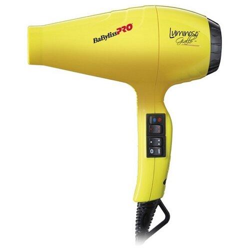Фото - Фен BaBylissPRO BAB6350 Luminoso, giallo фен babylisspro bab6350 luminoso giallo