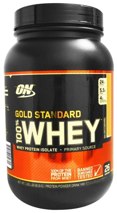 Протеин Optimum 100% Whey Protein Gold Standart 907 гр Праздничный пирог Протеин