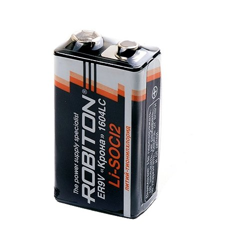Фото - Батарейка ROBITON ER9V Крона 1604LC, 1 шт. батарейка robiton lithium profi cr3032 1 шт