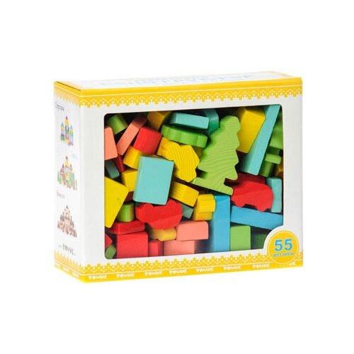 Кубики Томик Краски дня Утро 6674-12 томик кубики алфавит с цифрами