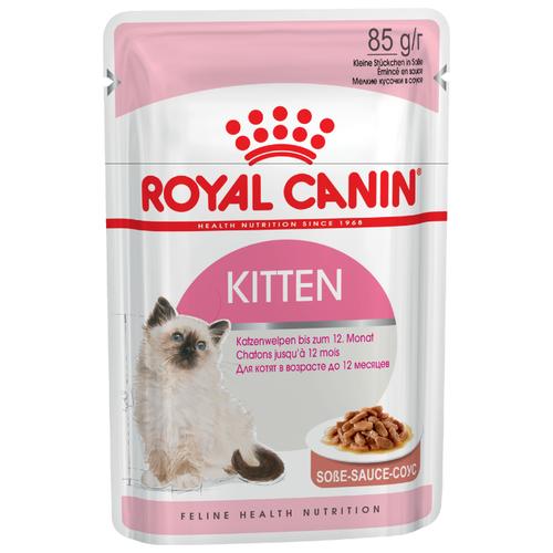 Корм для котят Royal Canin Instinctive мясное ассорти 85 г (кусочки в соусе) консервы для котят аппетитные кусочки в желе royal canin kitten instinctive 85 г