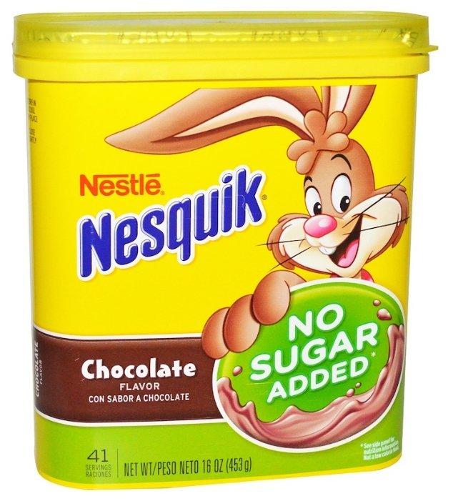 Nesquik Какао-напиток растворимый без сахара