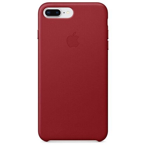 Чехол Apple кожаный для Apple iPhone 8 Plus / 7 Plus (PRODUCT)RED