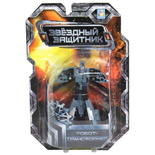 Трансформер 1 TOY Звездный защитник Вертолет серый трансформер 1 toy звездный защитник космолет красный черный