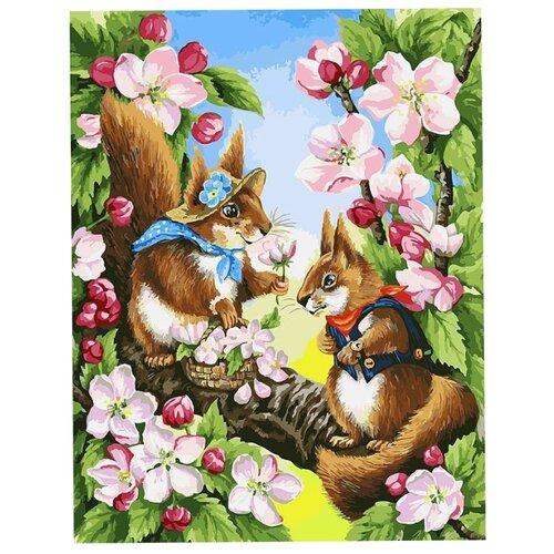 Белоснежка Картина по номерам Свидание 40х30 см (120-AS) белоснежка алмазная мозаика белоснежка волк 40х30 см