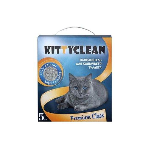 Комкующийся наполнитель Kitty Clean Premium class 5 кг