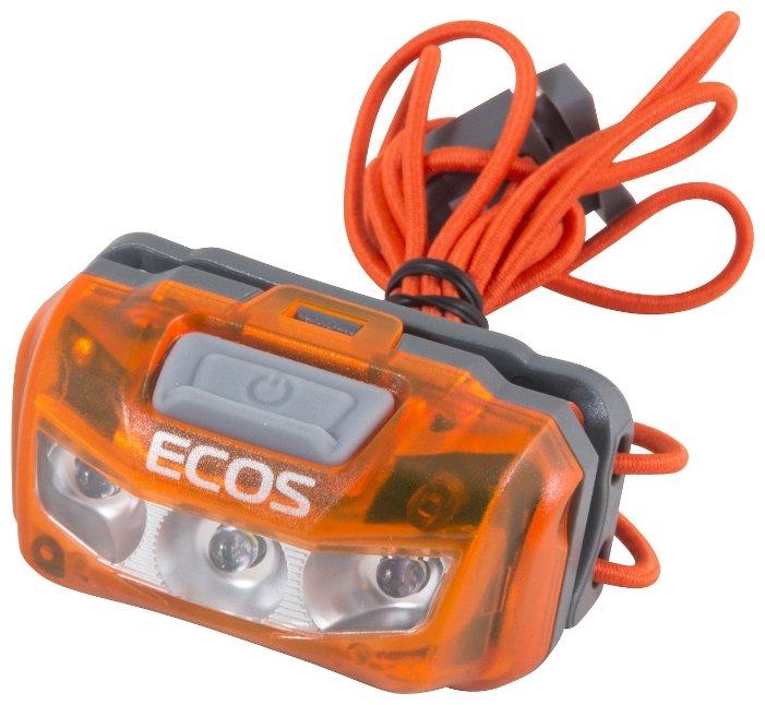 Налобный фонарь ECOS FLHB6006
