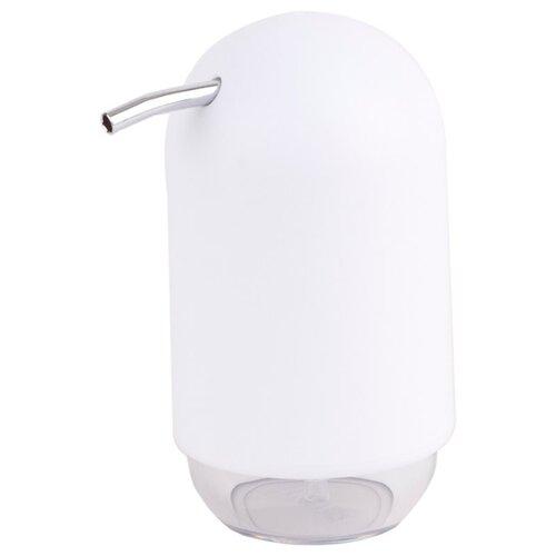 Дозатор для жидкого мыла Umbra Touch 023273 белый umbra декоративные цветы umbra delica для стен белый 8 элементов 8pu mi do