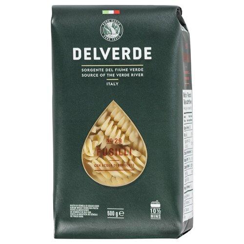 Delverde Industrie Alimentari Spa Макароны № 29 Fusilli, 500 г макароны delverde spaghetti 141 с отрубями био 500 г